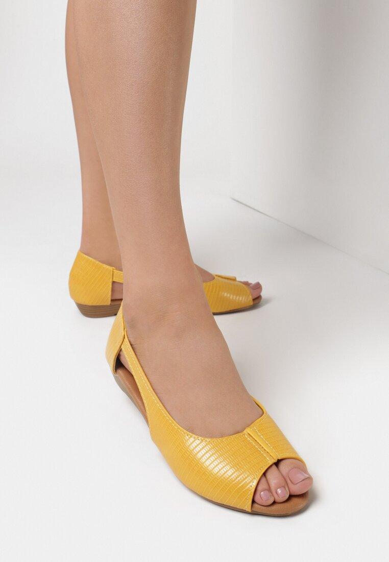 Żółte Balerinki Aethiphonos inny