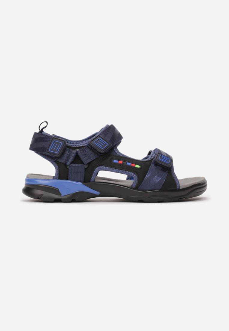 Czarno-Niebieskie Sandały Adrealila inny