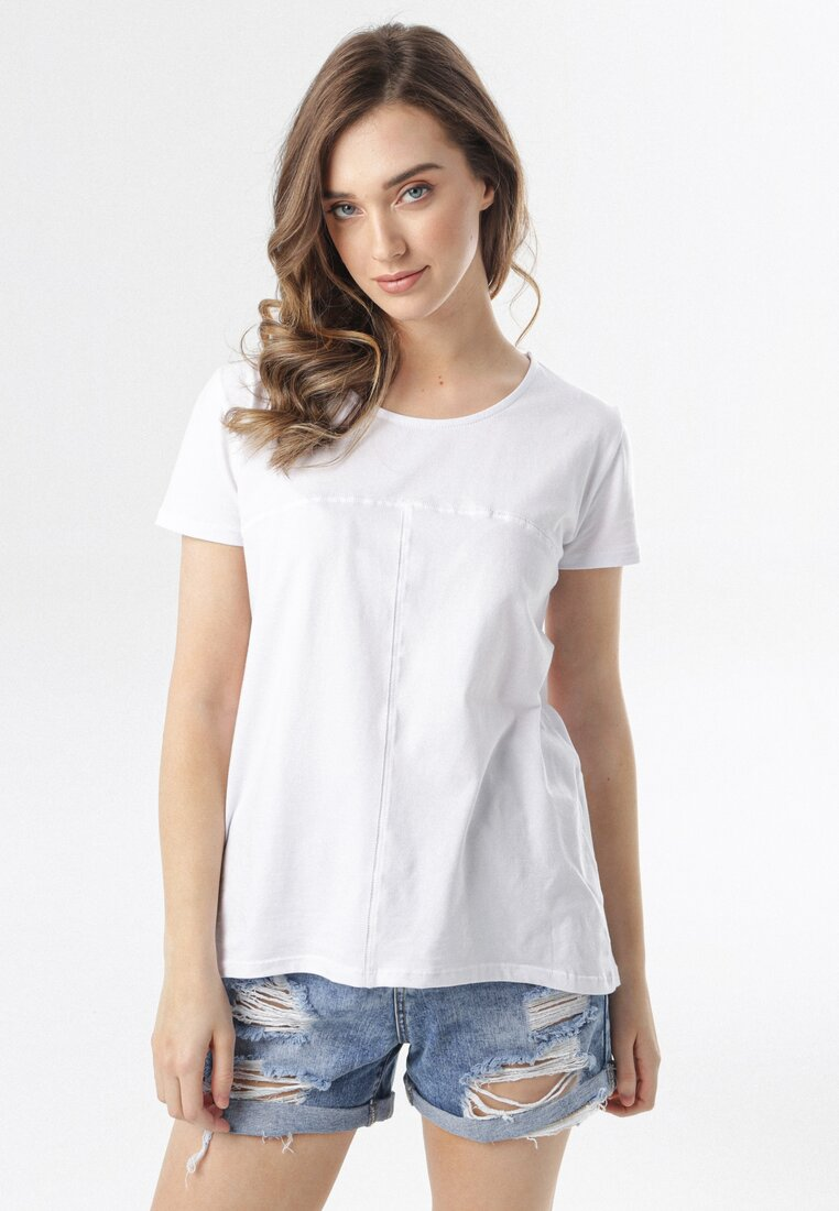 Biały T-shirt Assathea other
