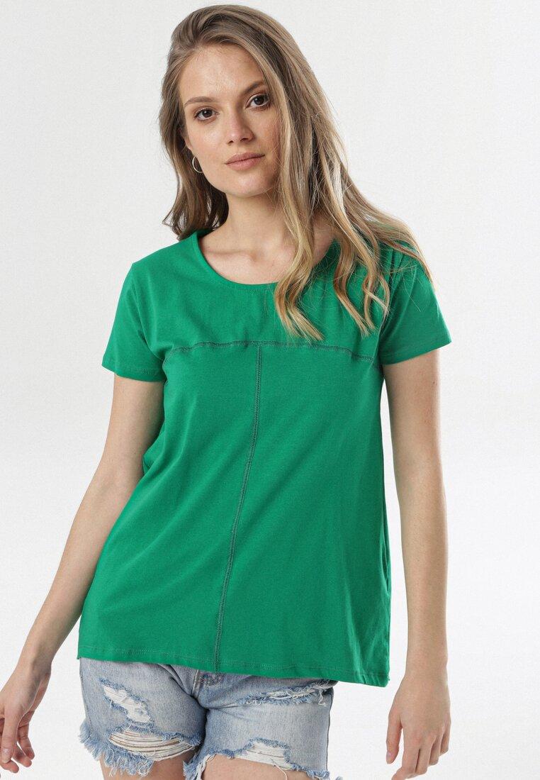 Zielony T-shirt Assathea other