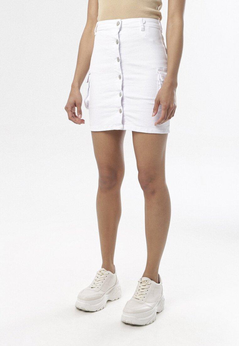 Biała Spódnica Mayamare