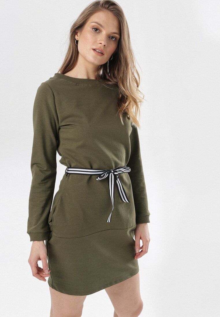Khaki Sukienka Larainey