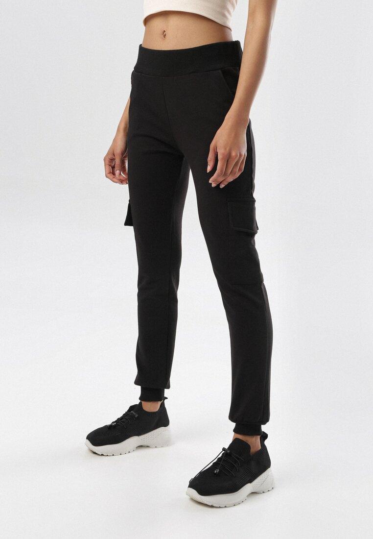 Czarne Spodnie Eatheve