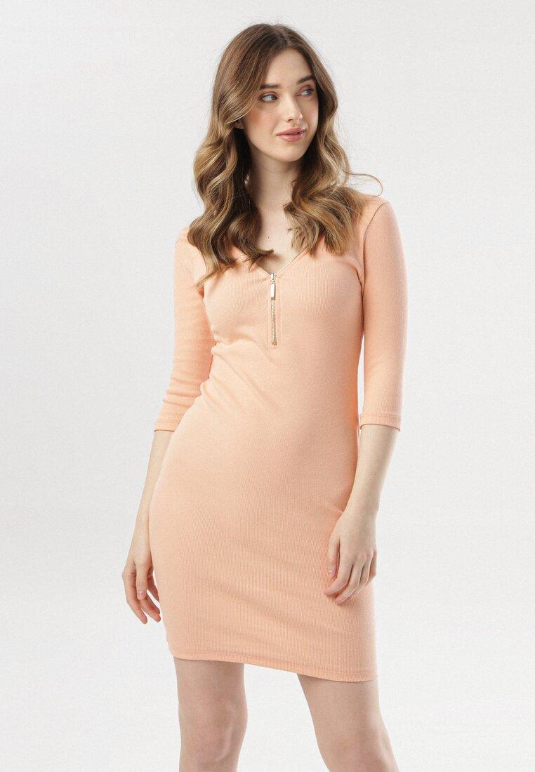 Łososiowa Sukienka Dalilei