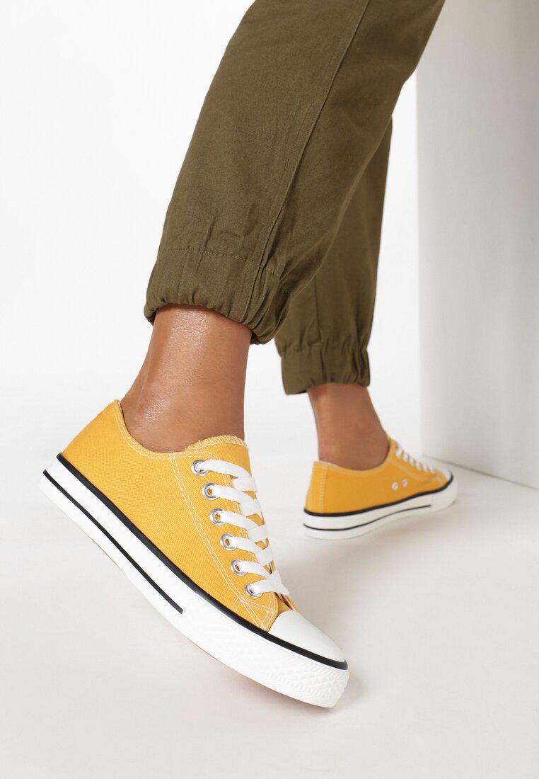 Żółte Trampki Amyete inny