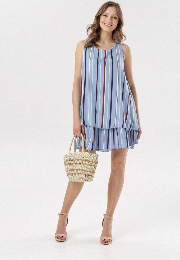 Niebieska Sukienka Kaela