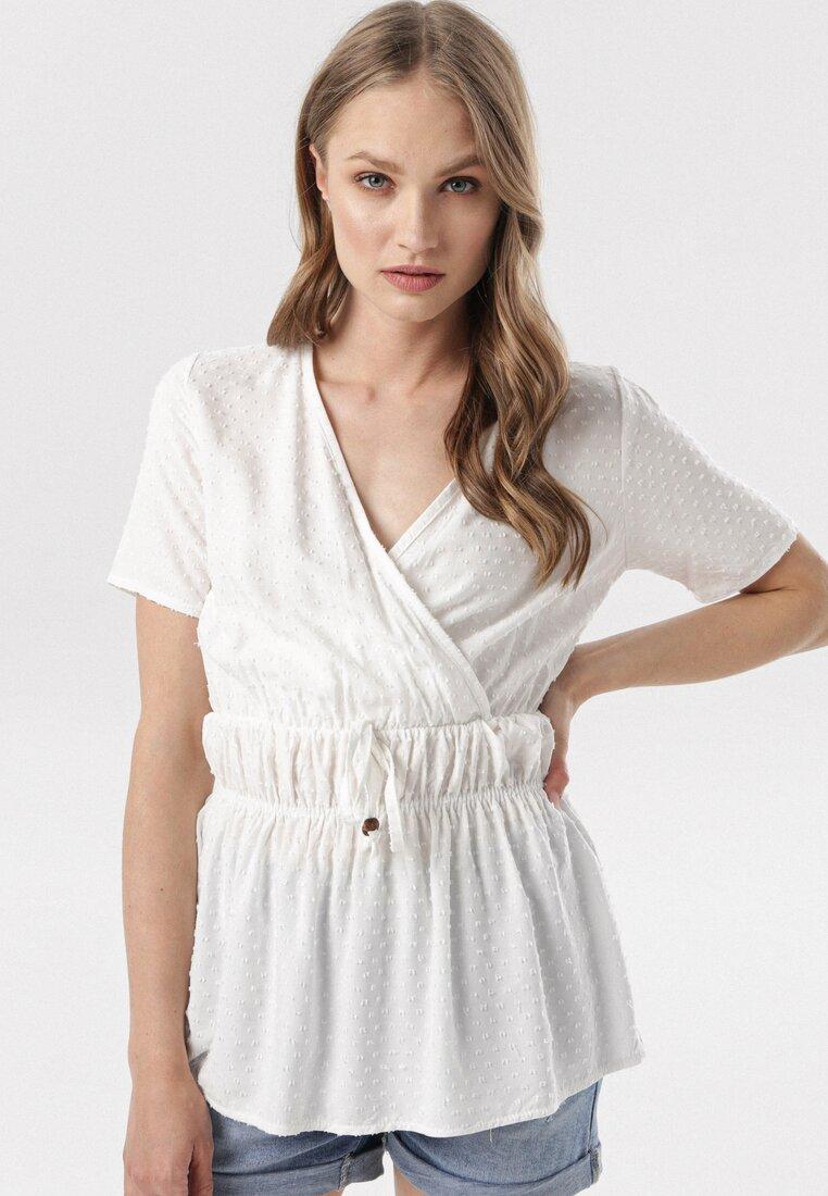 Biała Bluzka Nerigune