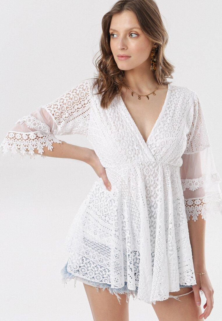 Biała Bluzka Adrearos