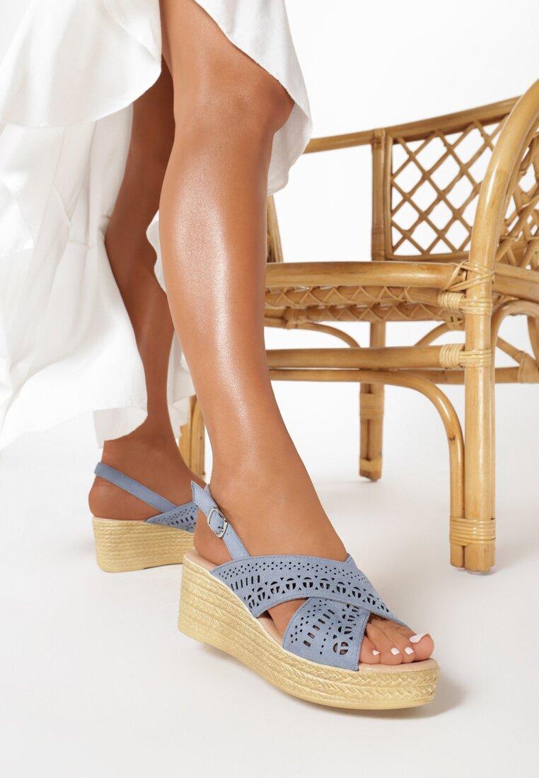 Niebieskie Sandały Betty