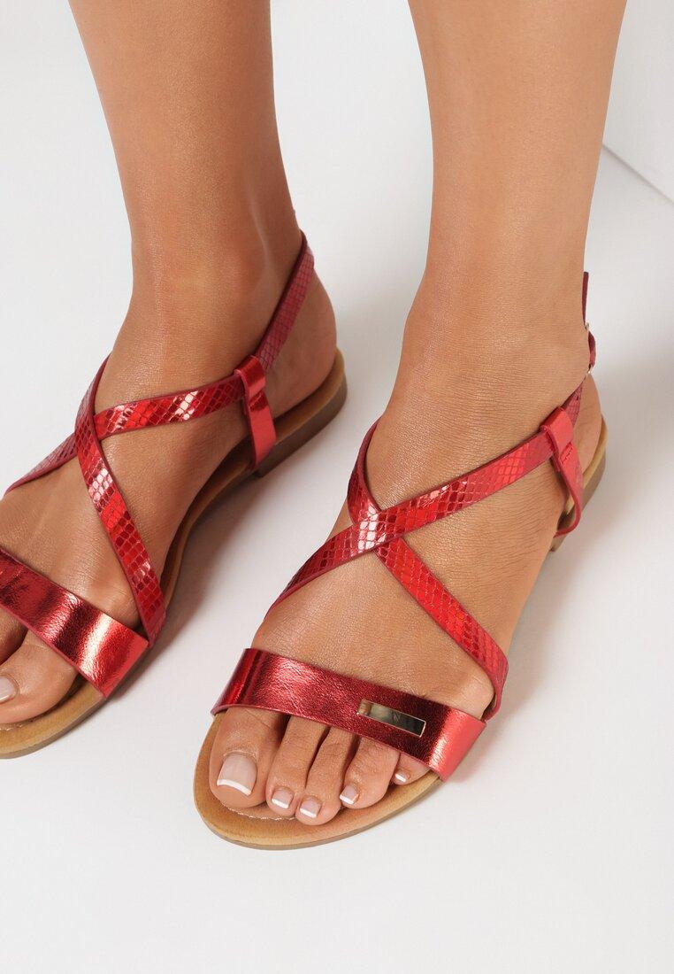 Czerwone Sandały Bolitai