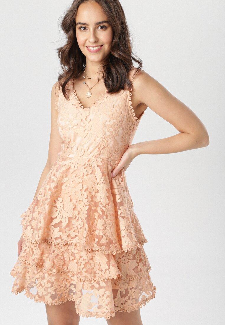 Łososiowa Sukienka Auralena