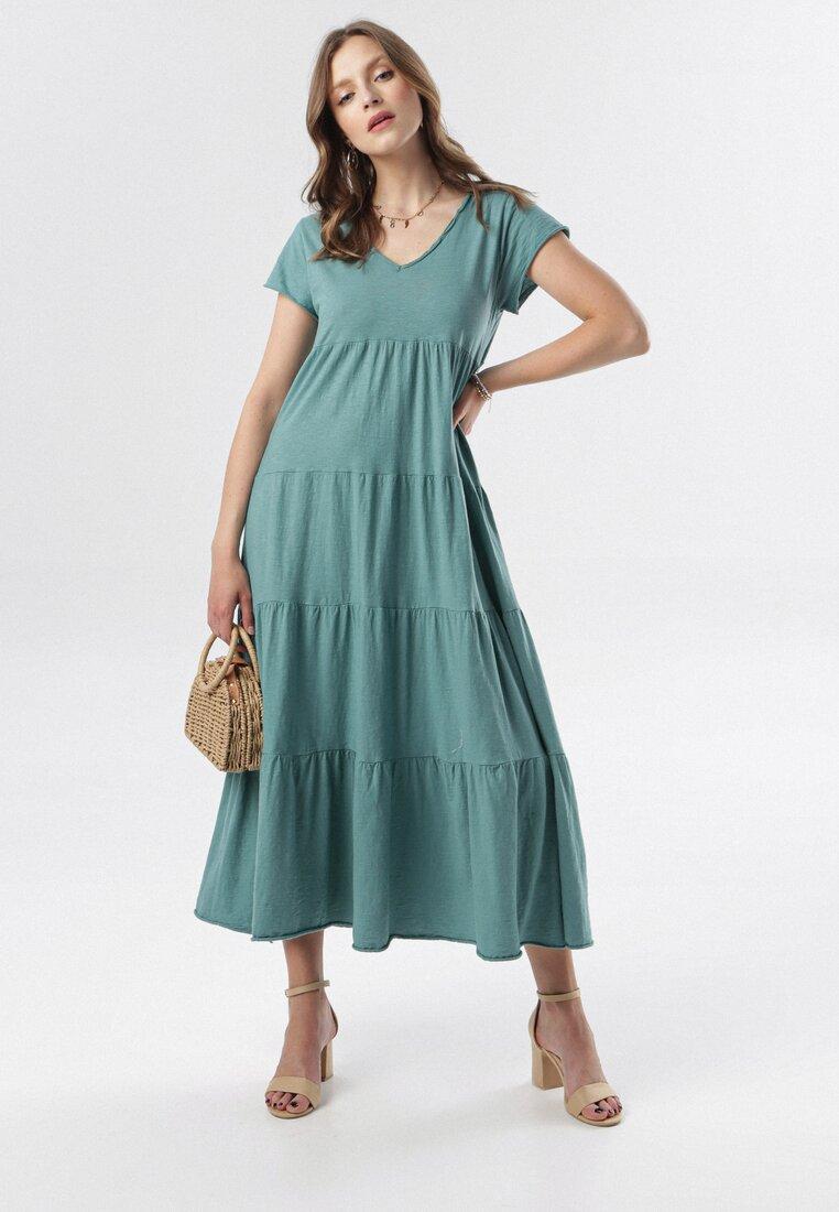 Niebieska Sukienka Nysaphite
