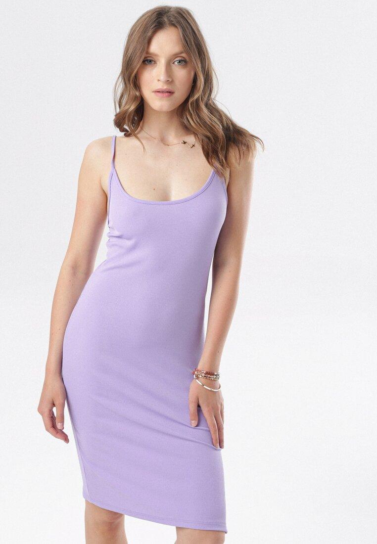 Fioletowa Sukienka Rairianne