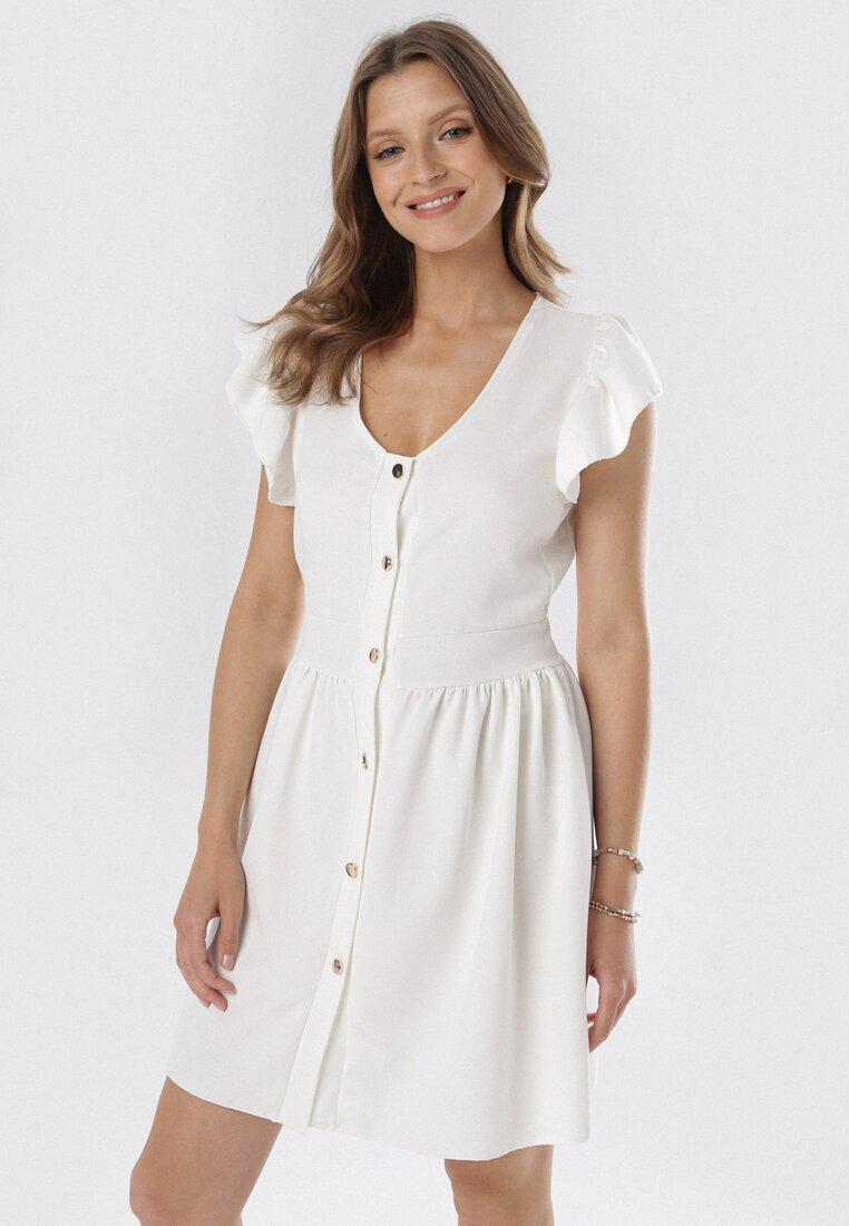 Biała Sukienka Aethea