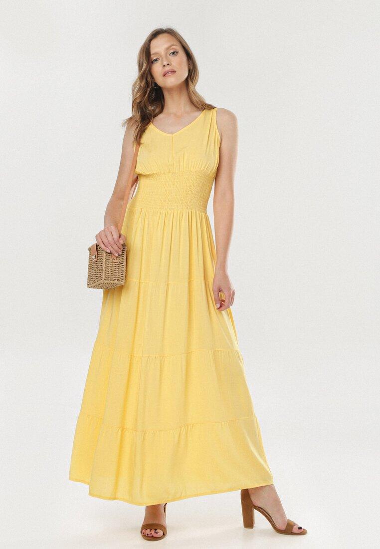 Żółta Sukienka Zeligale