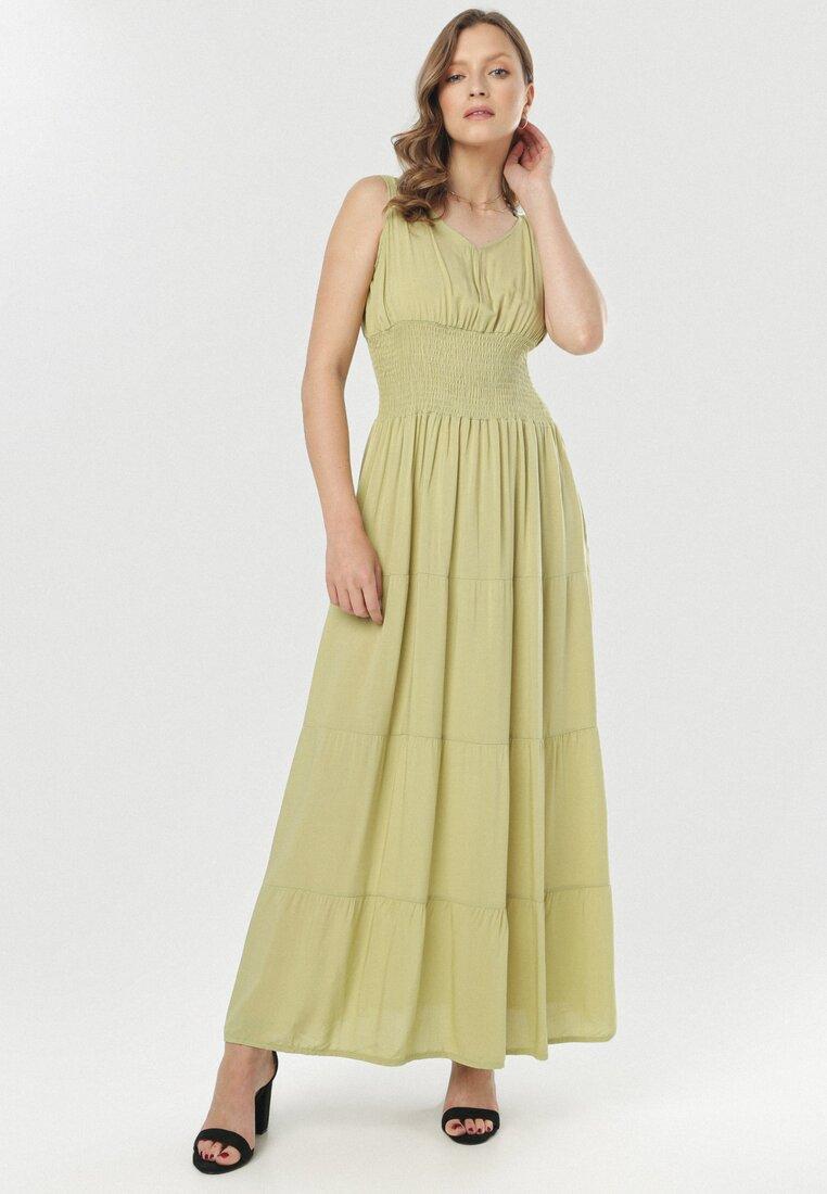 Zielona Sukienka Zeligale