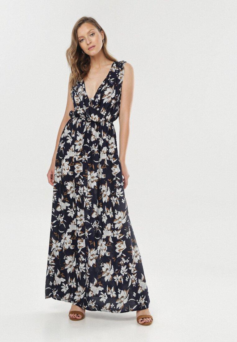 Granatowa Sukienka Coralaira