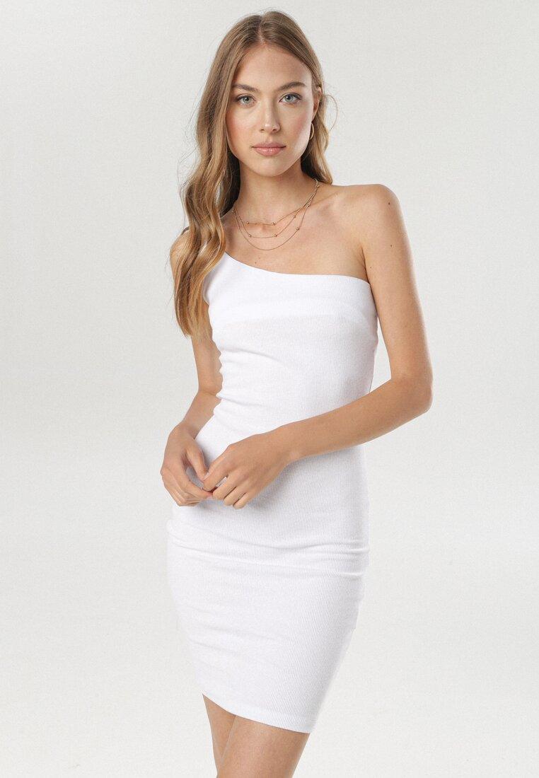 Biała Sukienka Callironei