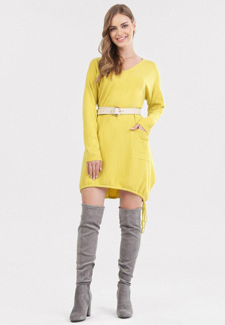 Żółta Sukienka Fyrvynia