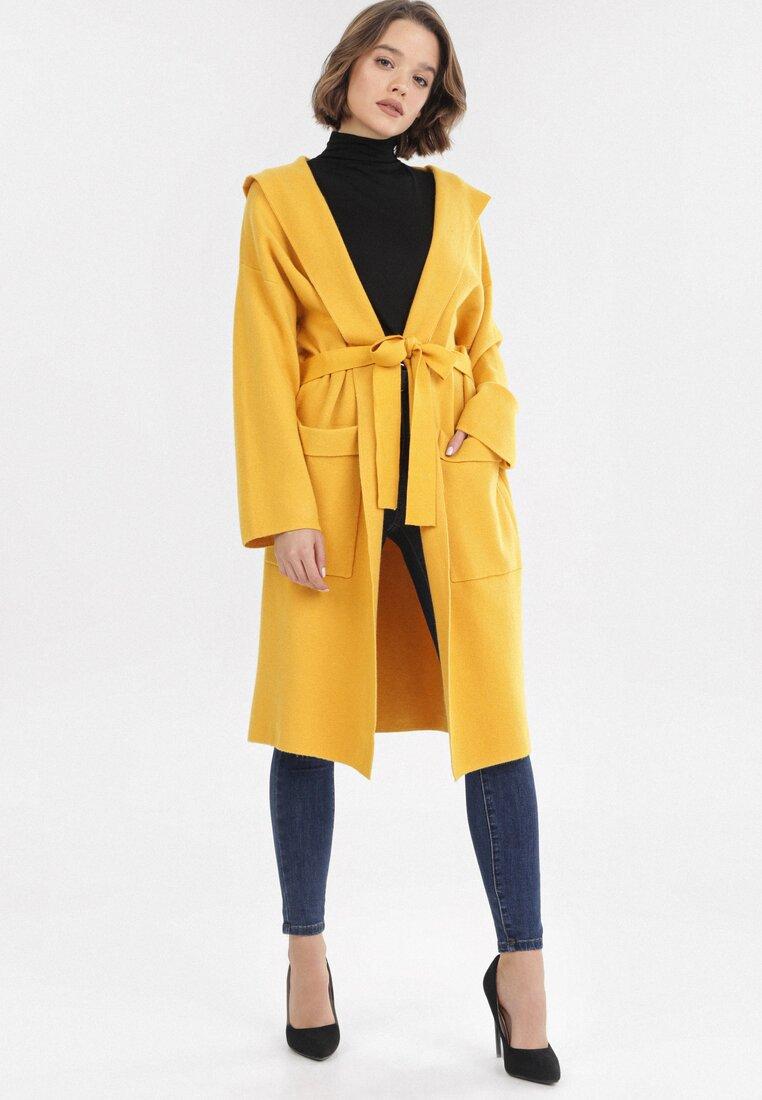 Żółty Kardigan Vhesneth