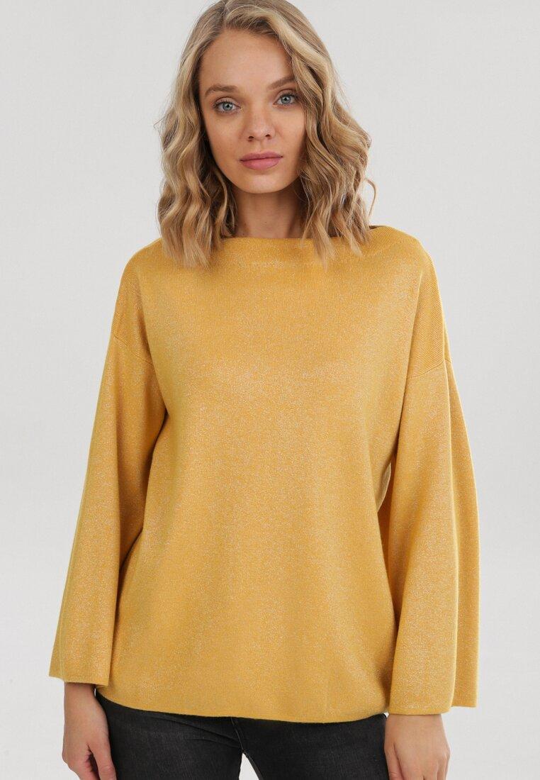 Żółty Sweter Cheriwen