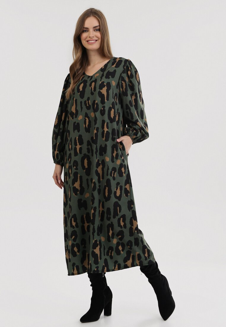 Zielona Sukienka Wooddust