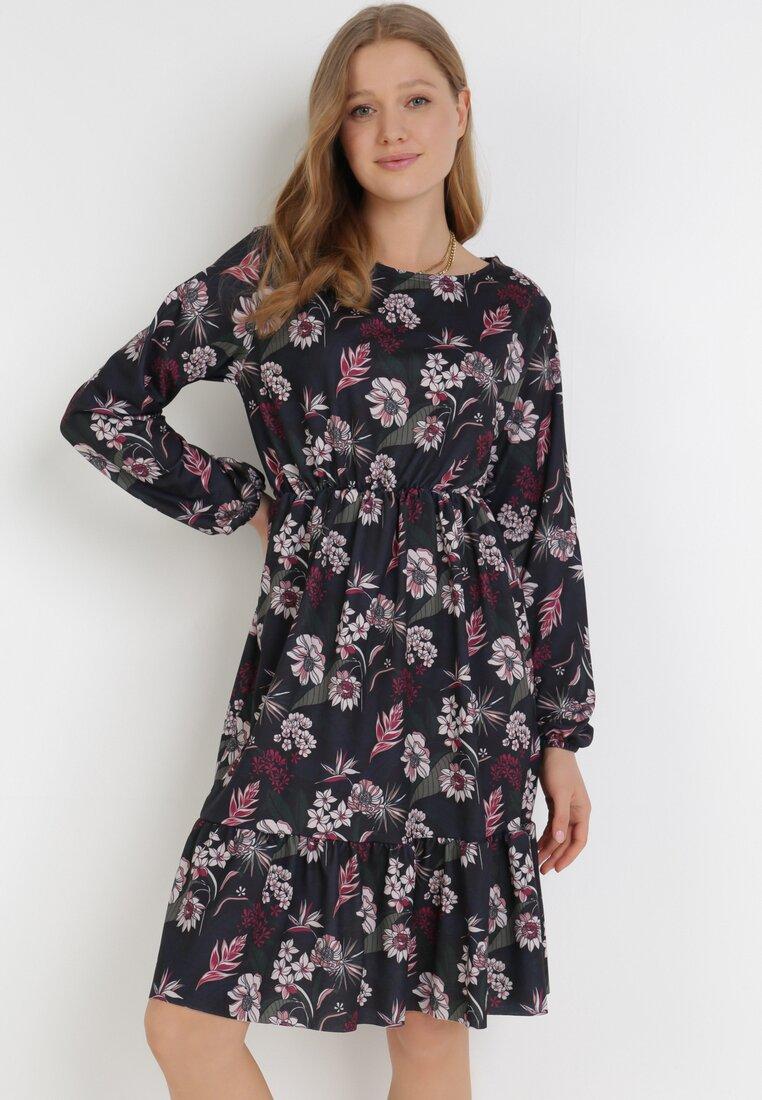 Granatowa Sukienka Amalinei