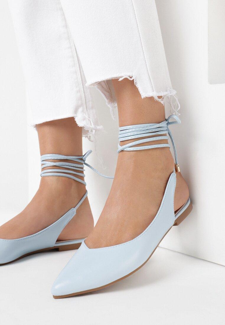 Niebieskie Sandały Haamiah
