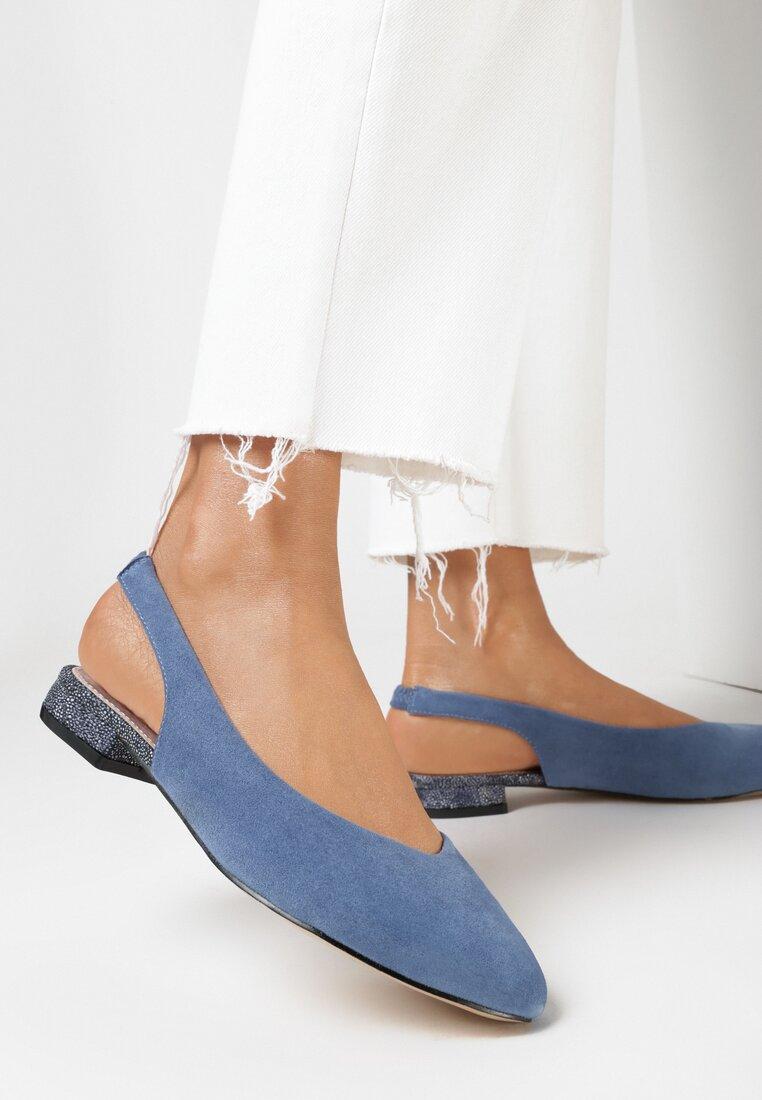 Niebieskie Sandały Vivifa