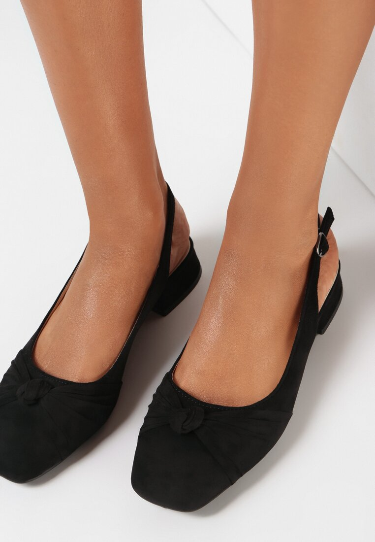 Czarne Sandały Dalissa