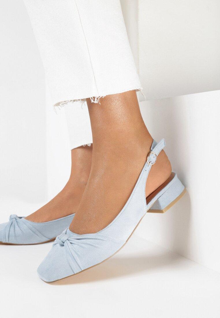 Niebieskie Sandały Dalissa