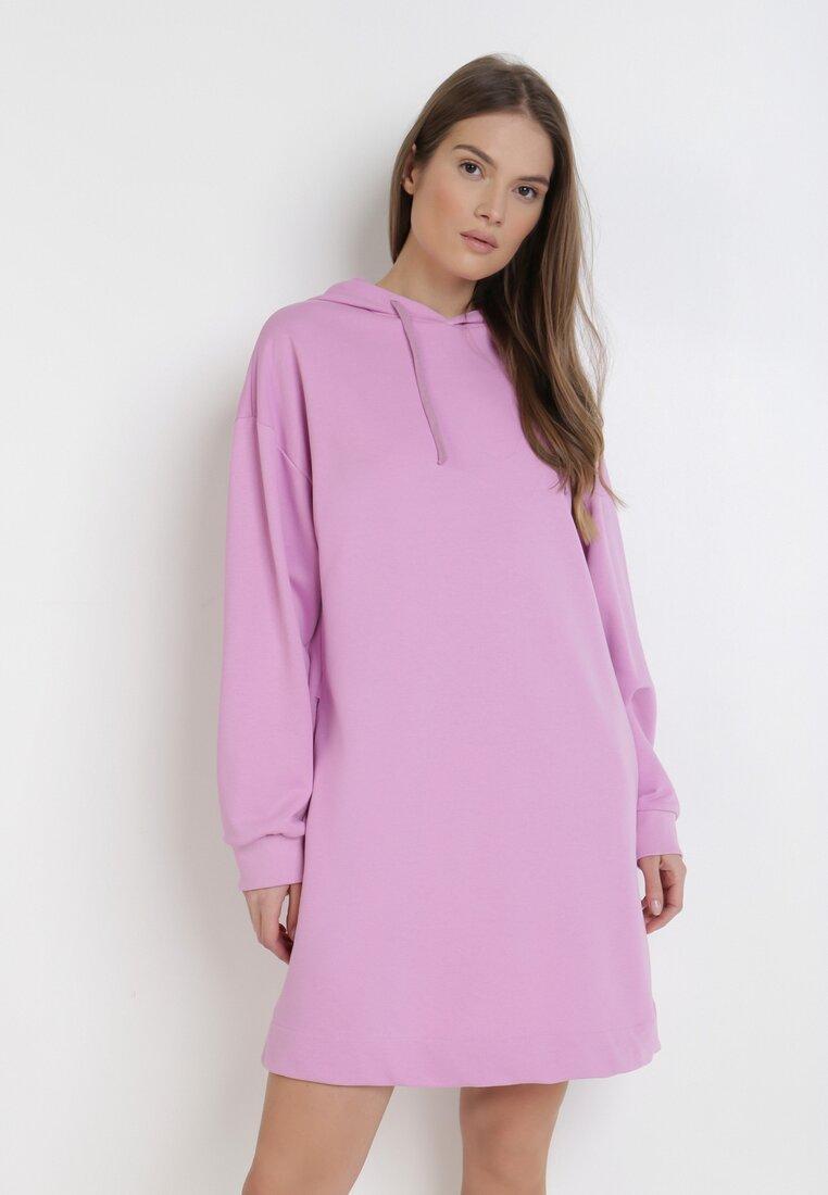 Różowa Sukienka Morgarea