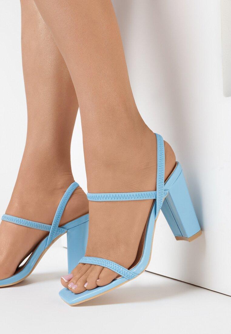 Niebieskie Sandały Daeilane