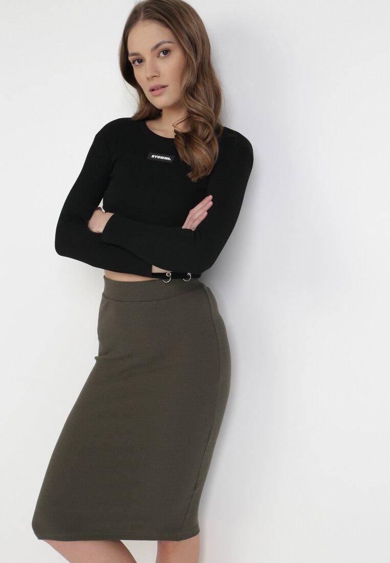 Khaki Spódnica Anthais