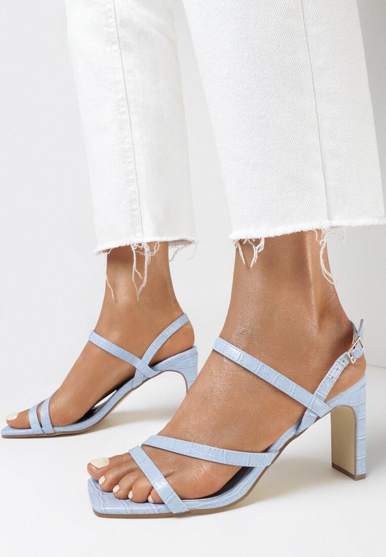 Niebieskie Sandały Ethemisa