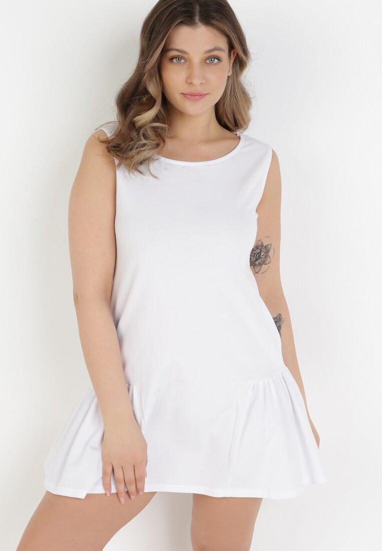 Biała Sukienka Iasixie