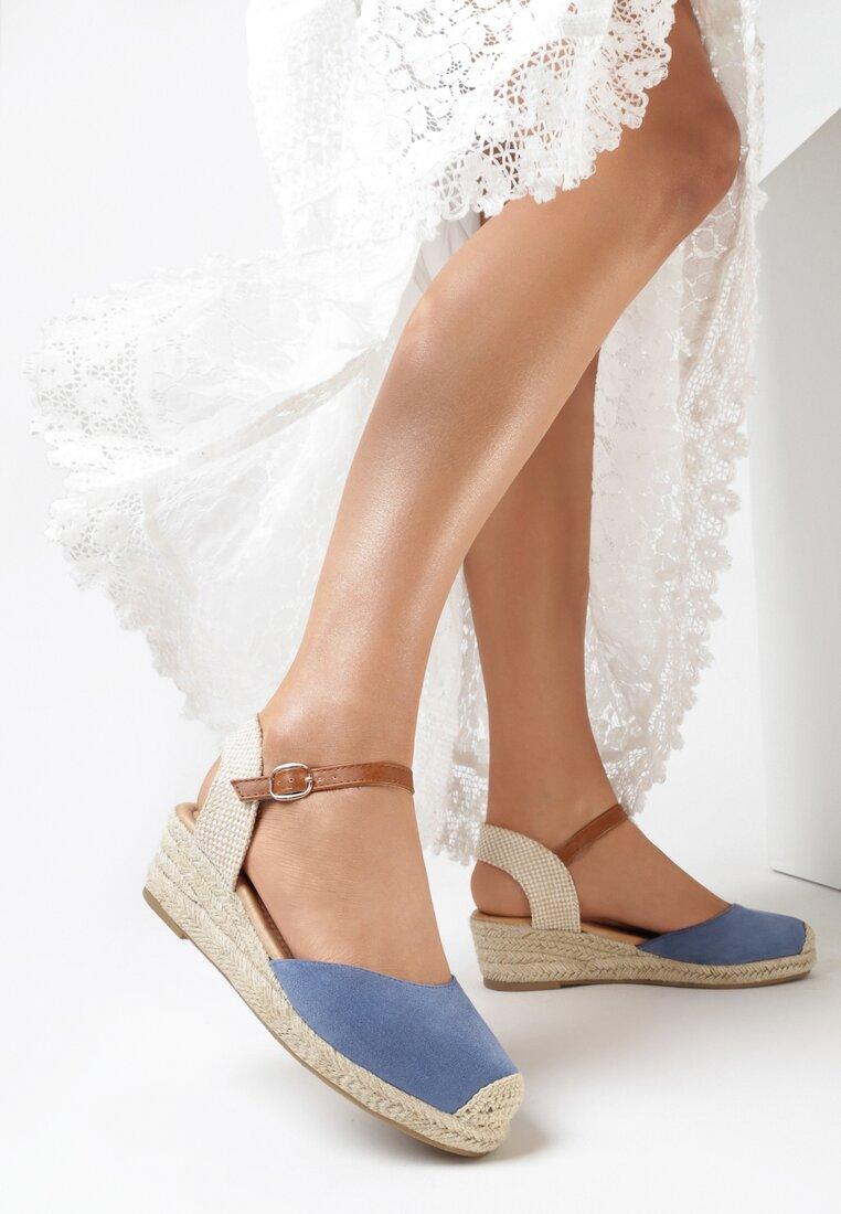 Niebieskie Sandały Vylvielle