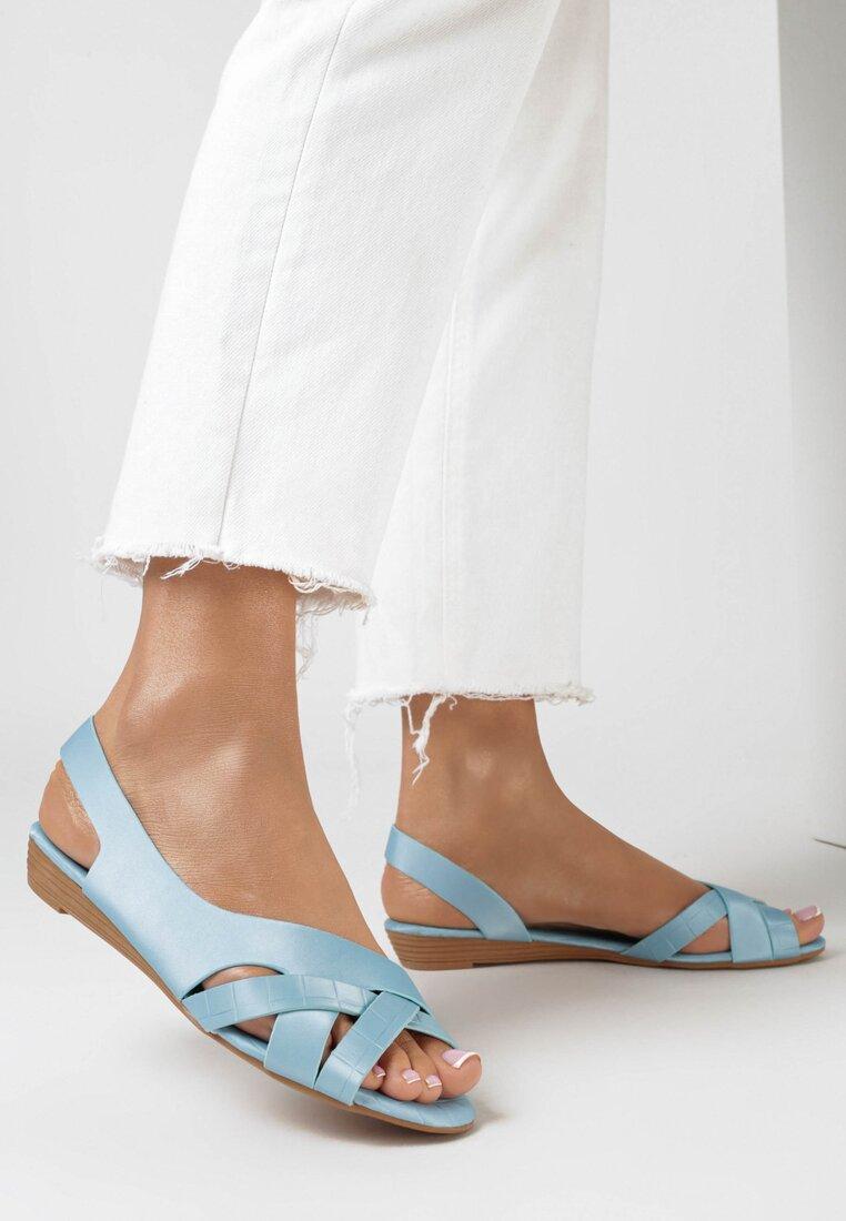 Niebieskie Sandały Pallelinai