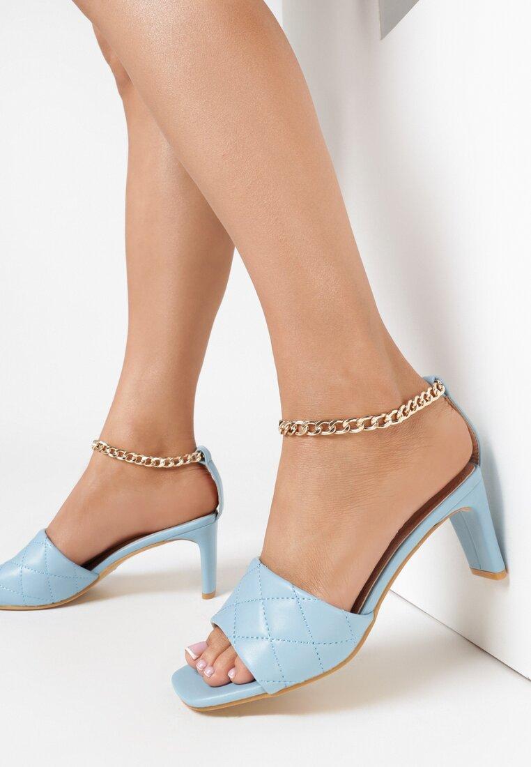 Niebieskie Sandały Dorypheme