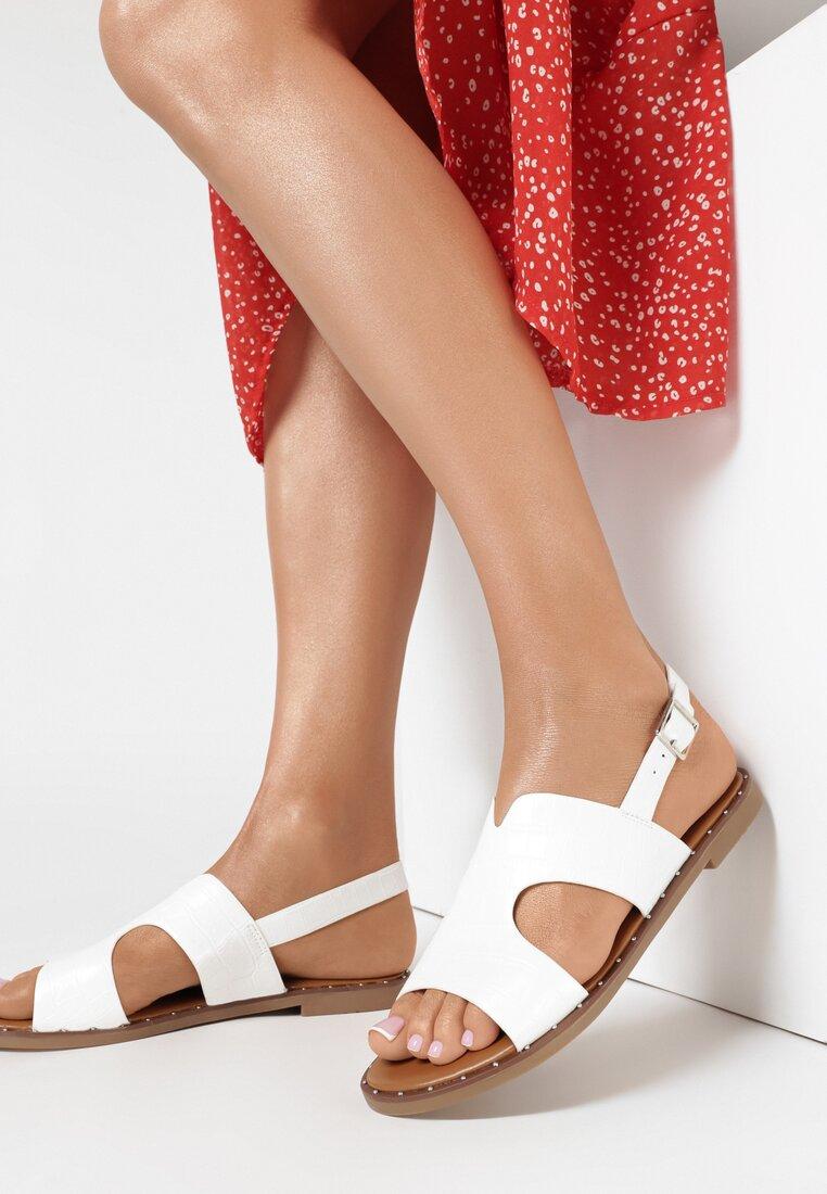 Białe Sandały Oaravia