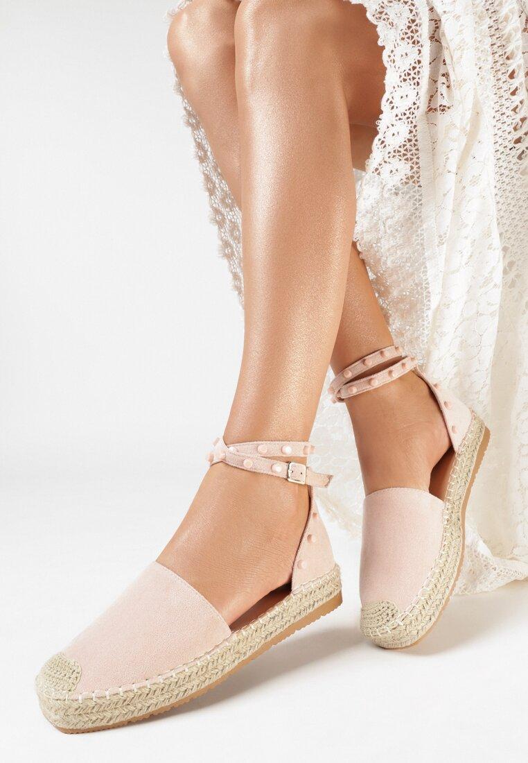 Różowe Sandały Saliophai
