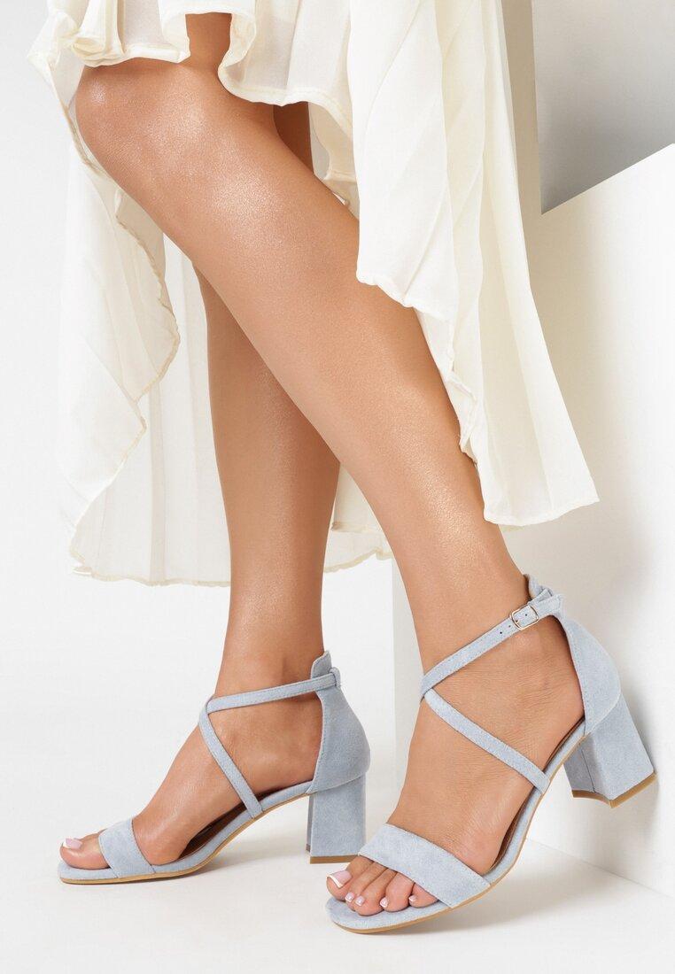 Niebieskie Sandały Sabeosis