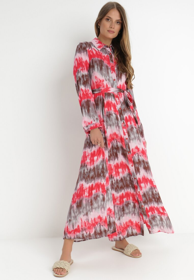 Czerwona Sukienka Nephohsa