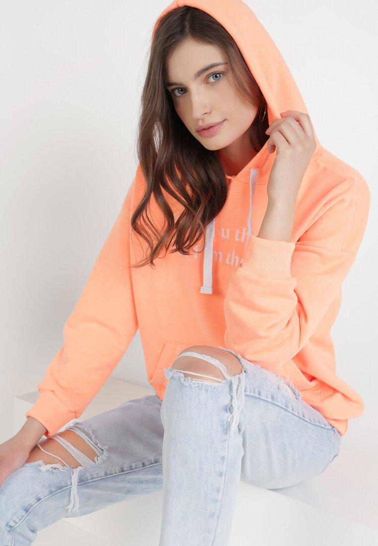 Pomarańczowa Bluza Corradenah
