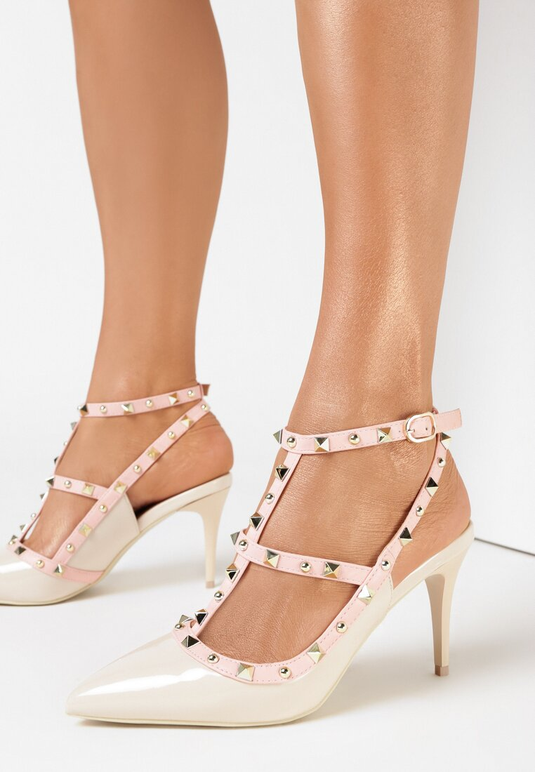 Beżowe Sandały Eathewai