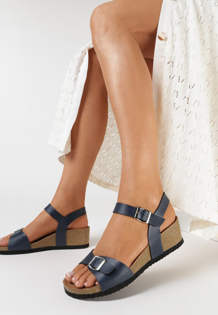 Niebieskie Sandały Aroalacia
