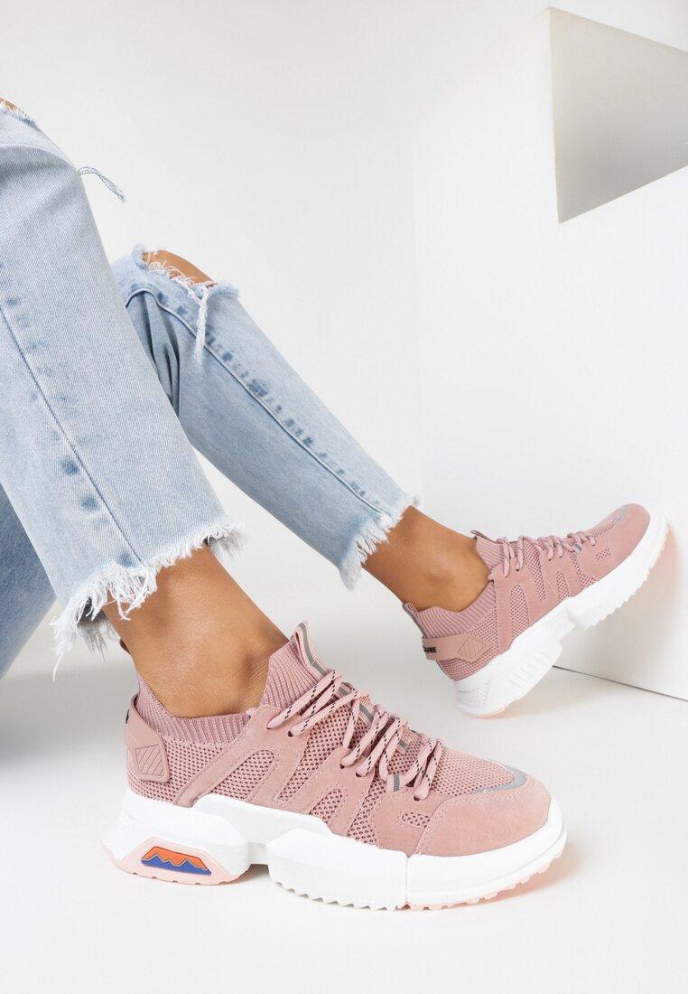 Różowe Sneakersy Pixiphi