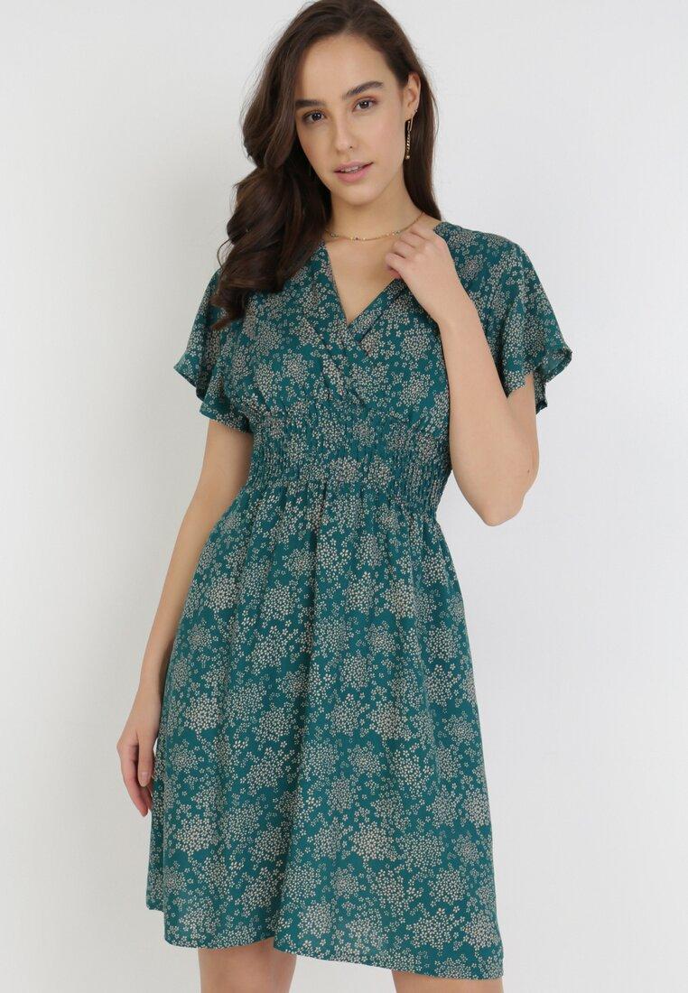 Zielona Sukienka Euphesis