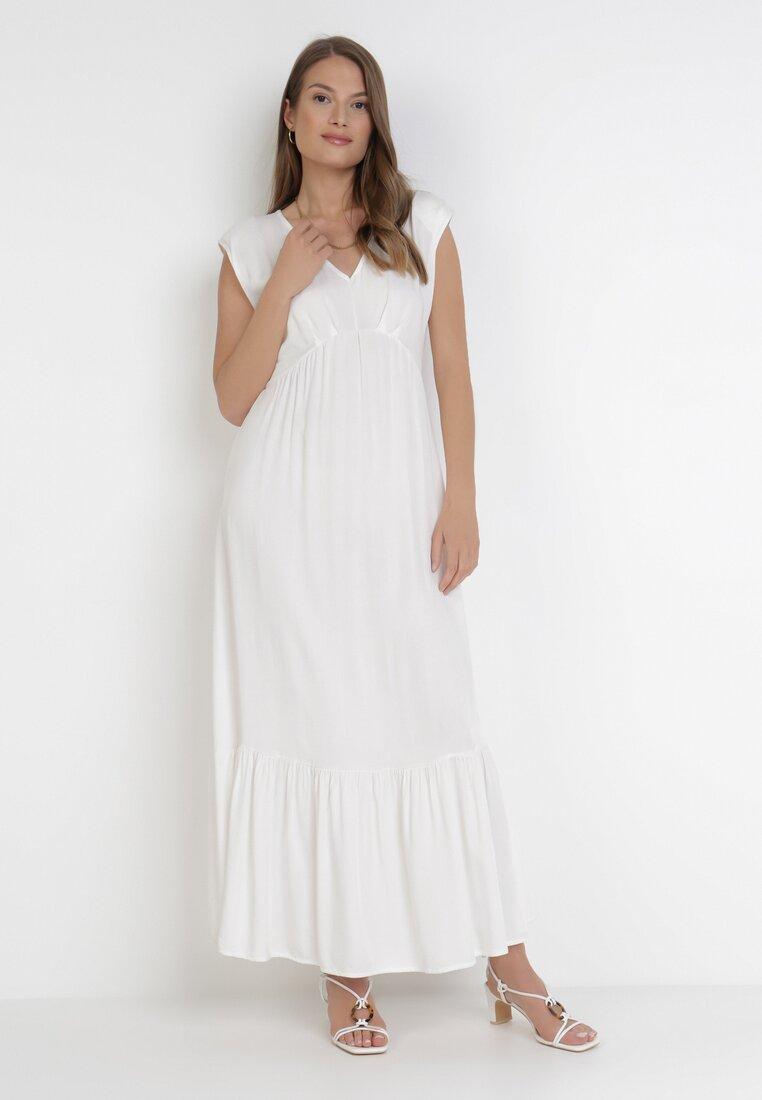 Biała Sukienka Lysosa