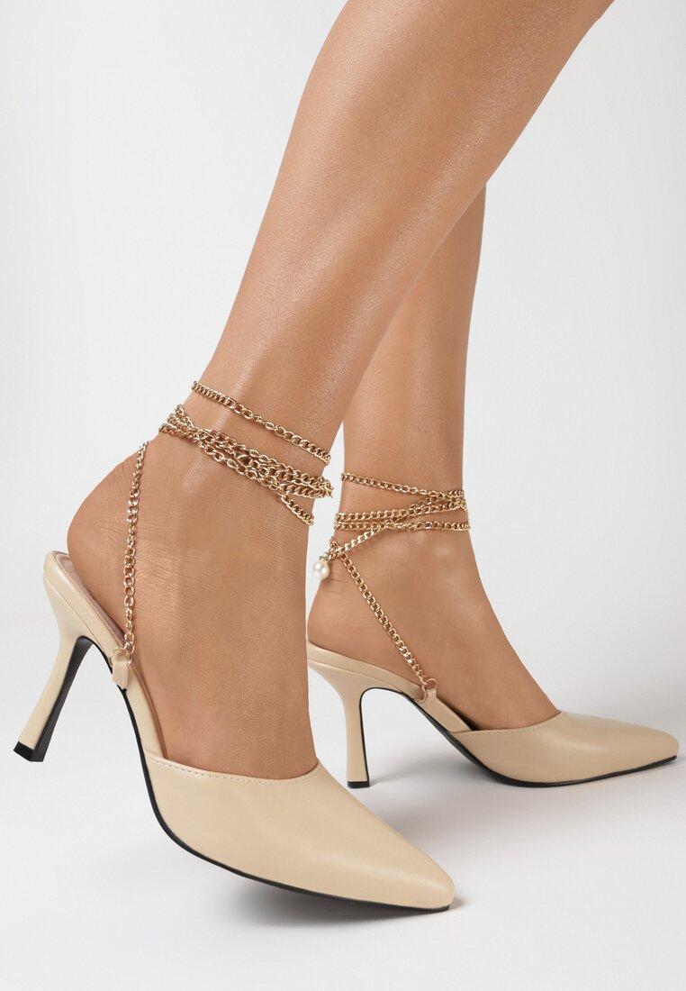 Beżowe Sandały Alexiasse